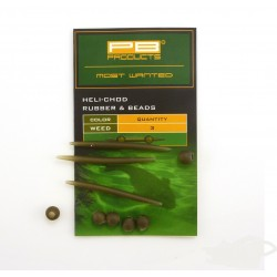 PB Products  Heli-chod  Rubber & Beads