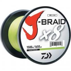 Daiwa J-braid X8 Chartreuse 1500m