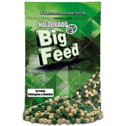 Haldorado Big Feed Pelete C6 Usturoi și Migdale 900g