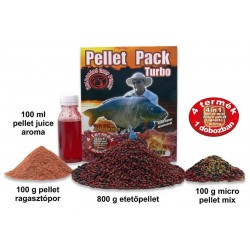 HALDORADO PELLET PACK TURBO CRAP INFOCAT (tuzes ponty)