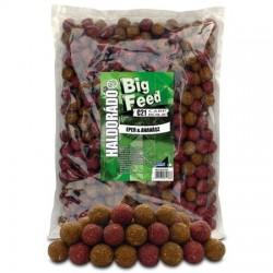 HALDORADO Big Feed - C21 Boilie - Capsuna & Ananas 2,5 kg