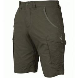 Pantaloni Scurti Fox Collection Green/Silver Combats Shorts