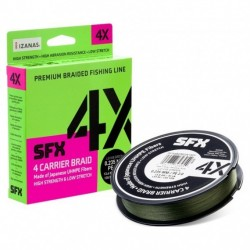 Sufix SFX 4x Braid Low Vis Green 135m