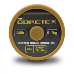 FOX CORETEX 15LB ,20LB,25LB. SANDY YELLOW