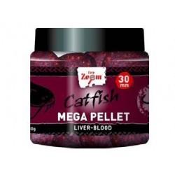 Carp Zoom Catfish Mega Pellet Liver Blood 30mm