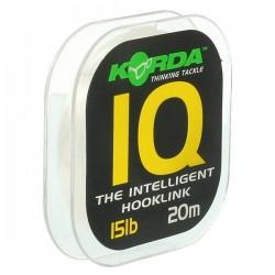 KORDA IQ FLUOROCARBON HOOKLINK 15lb 20m