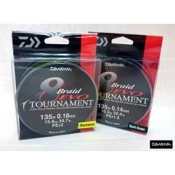 DAIWA TOURNAMENT 8 BRAIDED EVO 135M (TOATE MARIMILE)
