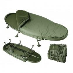 Trakker - LEVELITE OVAL WIDE BED SYSTEM+Sac de dormit