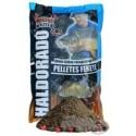Haldorado feeder master fekete pelet