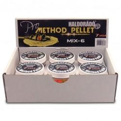 Haldorado Pro Method Pellet 7 mm Mix 6 arome