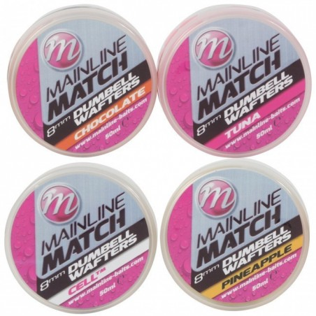 Mainline Match Dumbell Wafters 8mm Cell