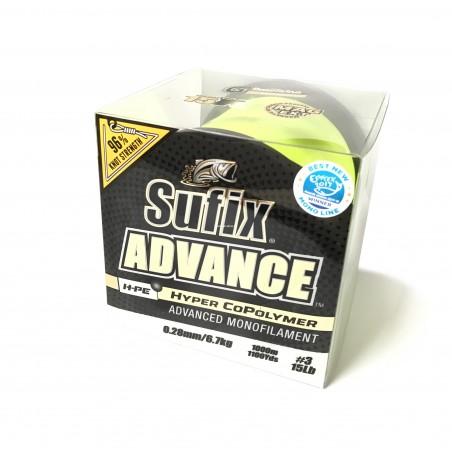 Fir Sufix Advance G2 Winding Yellow 1000 m 0,25 mm