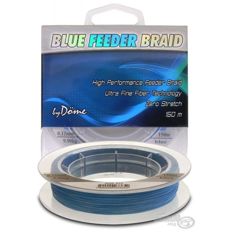 By Döme TEAM FEEDER Blue Feeder Braid 150 m 0,06 mm