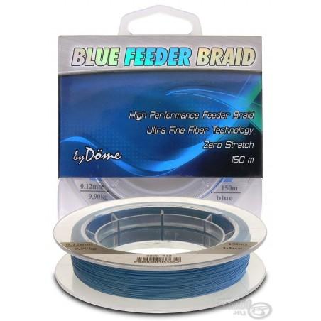 By Döme TEAM FEEDER Blue Feeder Braid 150 m 0,08 mm