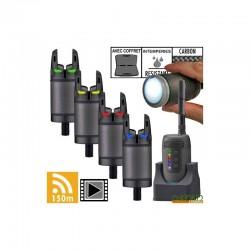 Set Avertizori +Statie Prologic K3 Bite Alarm Set 4+1