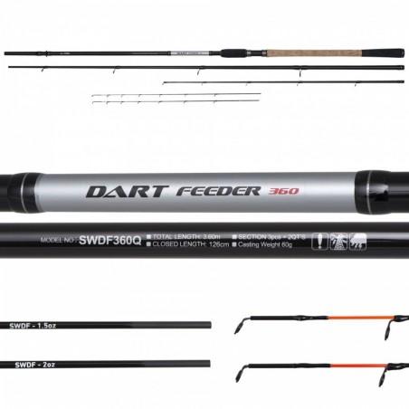 Lanseta  feeder Serie Walter Dart II Feeder 3,30m/ 50g