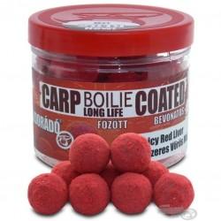 HALDORADO  Boilie Long Life Coated - Spicy Red Liver (Fűszeres Vörös Máj) 18 mm