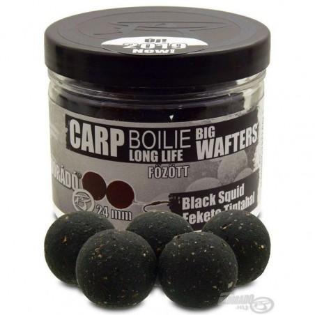 HALDORADO Big Wafters Boilie - Squid Negru  (Fekete Tintahal) 24 mm