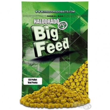 HALDORADO Big Feed - C6 Pellet -Crap Salbatic (Vad Ponty) 900 g