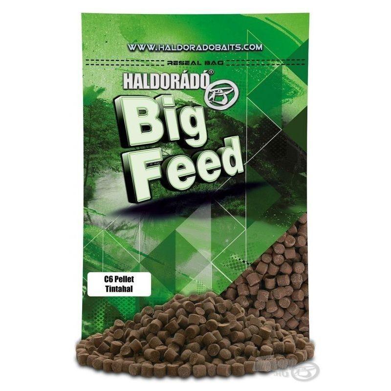 HALDORADO Big Feed - C6 Pellet - Squid 900 g