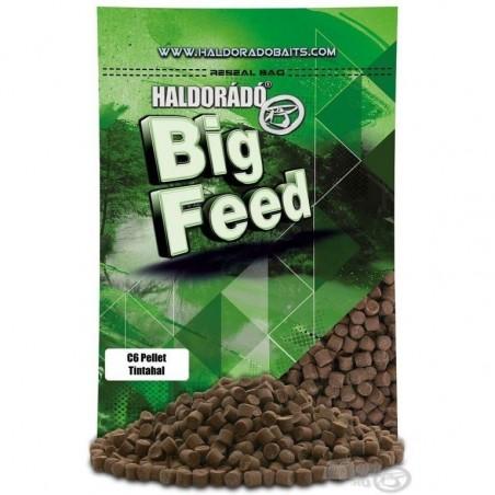 HALDORADO Big Feed - C6 Pellet -Squid (Tintahal) 900 g