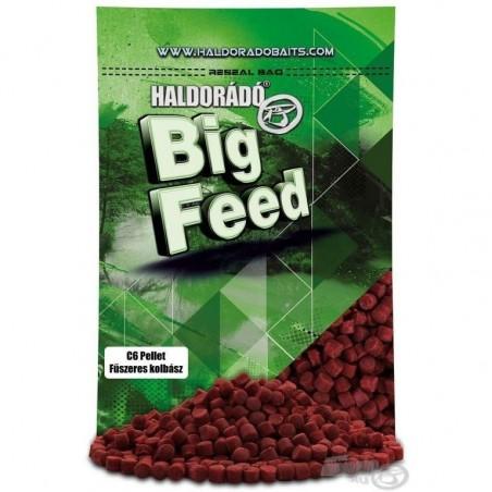 HALDORADO Big Feed - C6 Pellet -Carnat Condimentat 900 g
