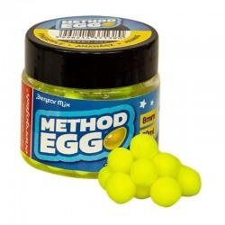 Benzar Method Egg Critic Echilibrat Ananas 8mm Galben